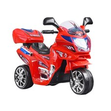 Sportowy Motor z bagażnikiem dla maluszka PA0027