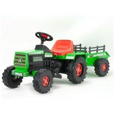 INJUSA Traktor Na Akumulator Basic 6V + Przyczepa