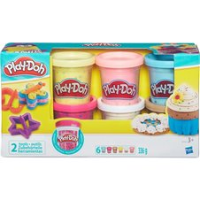 Plastilino rinkinys PLAY DOH Confetti Compound Collection, B3423EU6