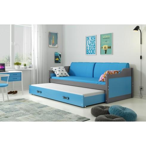Divvietīga bērnu gulta Dawid 190*80