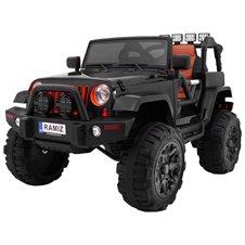 Pojazd Jeep All Terrain Czarny