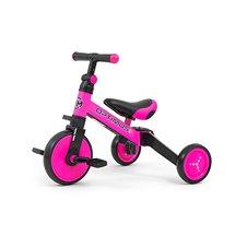 Triratukas-balansinis dviratukas M&M Optimus Pink