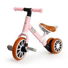 Balansinis dviratukas Eko Žaislas 2in1 Speed Rožinis