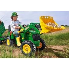 Трактор На Педалях Rolly Toys 710126 John Deere
