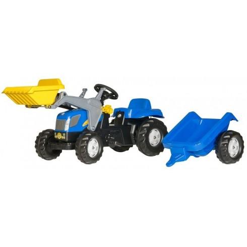 Трактор На Педалях Rolly Toys 023929