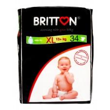 Подгузники Britton Xl 13+Kg B22032