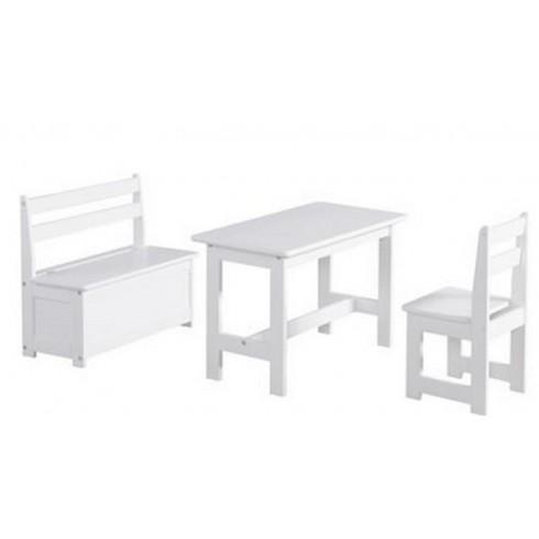 Galds Ar Krēslu Un Soli Pinio Baby Set