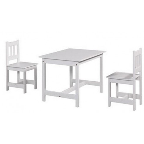 Столик И Стульчик Pinio Junior Set Белый