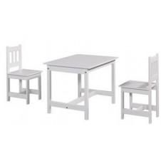 Galds un krēsls komplekts Pinio Junior white