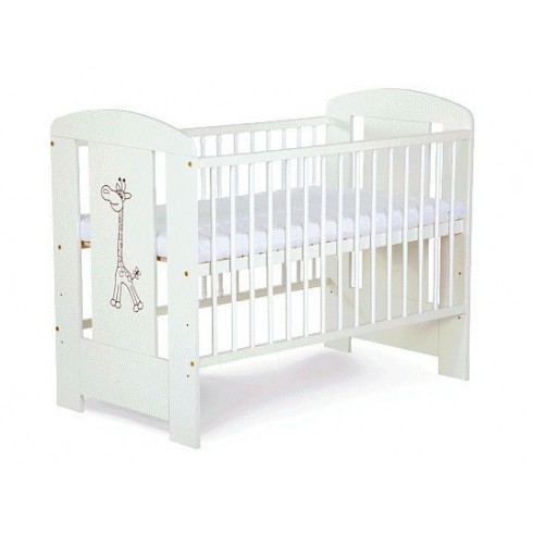 Кроватка Klupš Safari Белая