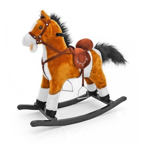 Музыкальная Лошадка Milly Mally Mustang Light Brown