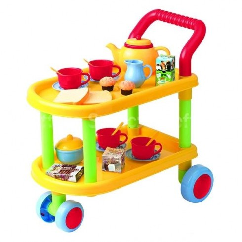 Стол С Колёсиками И Посудой Playgo  24Месяц+ 3128