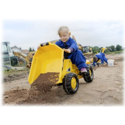 Traktors Rolly Toys Dumper Cat